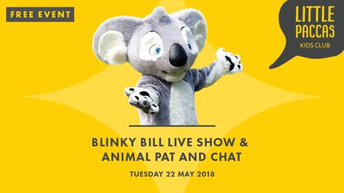 LET'S CHILL WITH BLINKY BILL