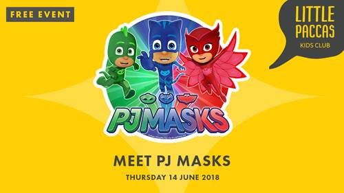 BECOME A HERO AT PJ MASKS SHOW