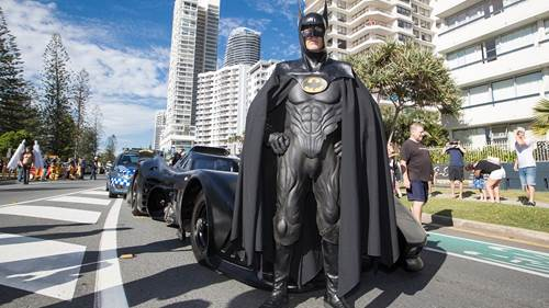 WIN A RIDE IN BATMAN'S BATMOBILE