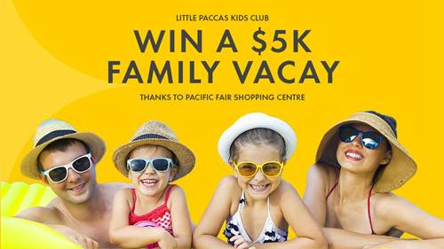 Win a Family Holiday