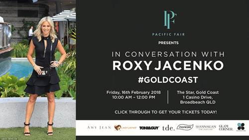 ROXY JACENKO IS COMING!