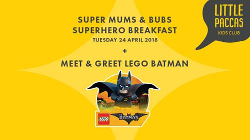 SUPERHERO BREAKFAST FOR THE KIDS