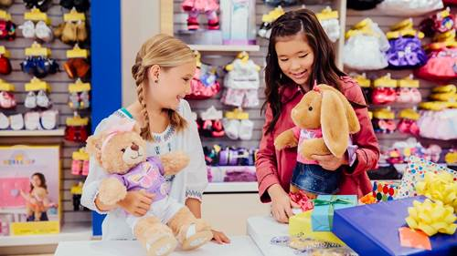 BUILD-A-BEAR WORKSHOP NOW OPEN