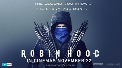 WIN A DOUBLE PASS TO ROBIN HOOD