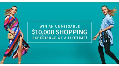 WIN an unmissable $10K shopping experience
