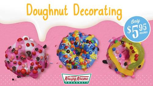 DOUGHNUT DECORATING