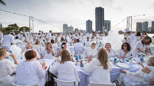 WIN TICKETS TO DINER EN BLANC GOLD COAST