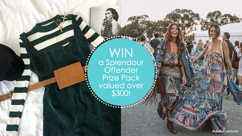 WIN A SPLENDOUR OFFENDER PRIZE PACK